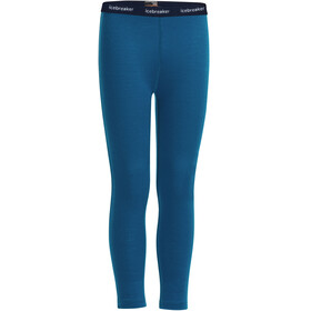 Icebreaker 200 Oasis Leggings Barn prussian blue